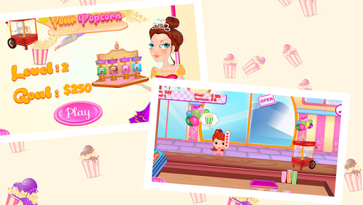 玩免費休閒APP|下載爆米花生產商 - 遊戲的女孩 app不用錢|硬是要APP
