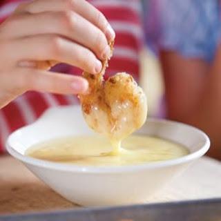 Crispy Shrimp with Lemony Mayonnaise.