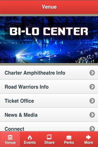 BI-LO Center - screenshot