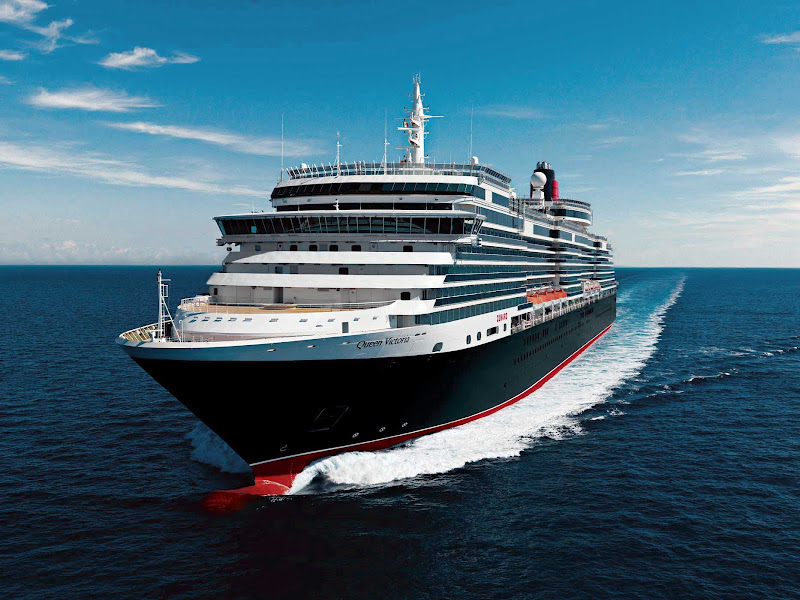 Sail the enchanting seas in comfort and luxury aboard Cunard's renowned Queen Victoria. The ship travels to the Caribbean, Central America, South Pacific, Mediterranean, Northern Europe and transatlantic routes.
