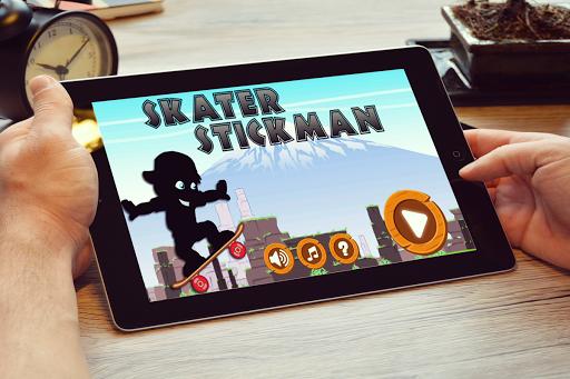 Skater Stickman