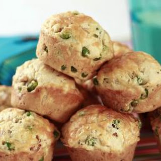 Pea, Ham And Cheese Muffins