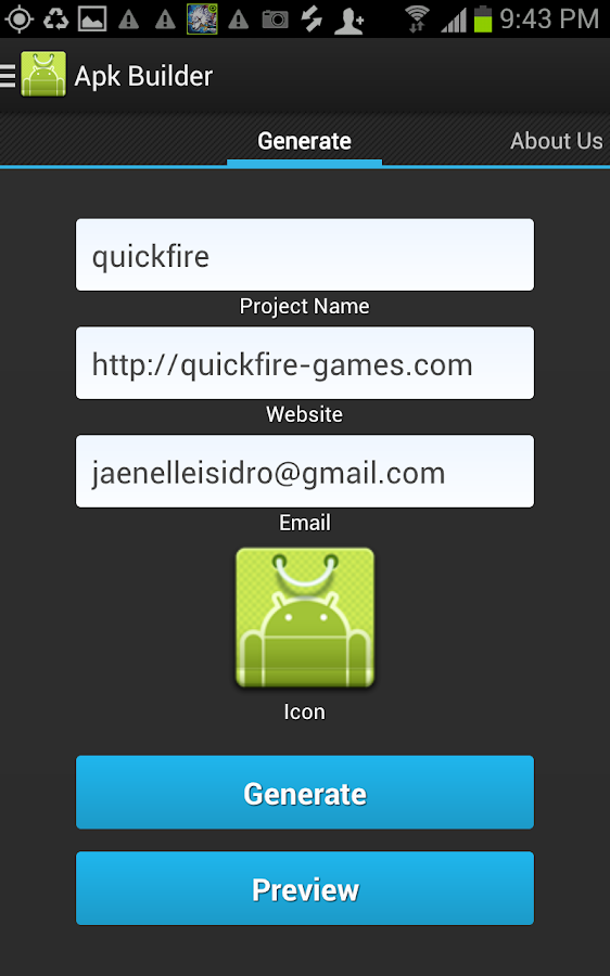 Apk Builder- screenshot