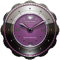 Dragon Clock Widget rose icon