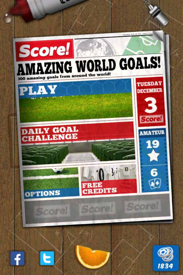 Score! World Goals - screenshot