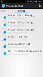 Send! | File Transfer- screenshot thumbnail