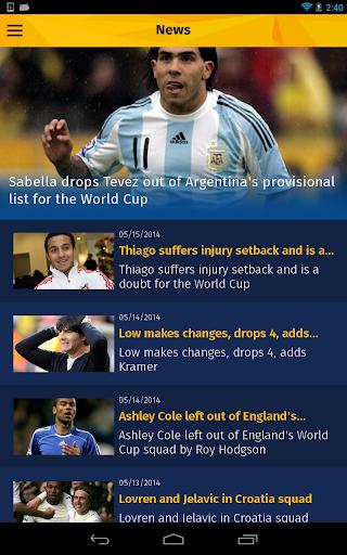 【免費運動App】World Cup Brazil 2014 Live-APP點子