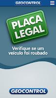Screenshot of Placa Legal