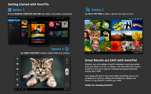 KoolrPix Studio Image Editor - screenshot thumbnail