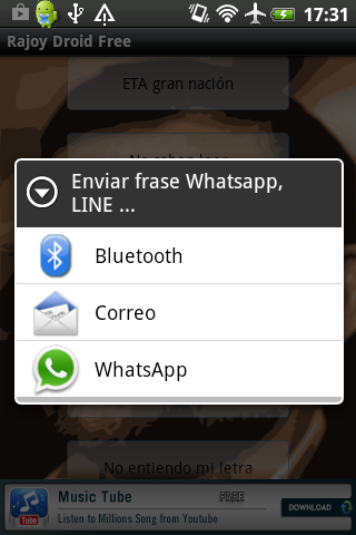 Rajoy Droid Free - screenshot