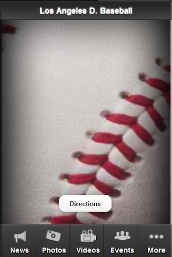 Los Angeles D. Baseball Fan