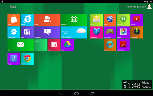 Metro UI Launcher 8.1 Pro - screenshot thumbnail