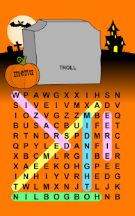 Halloween Word Search Puzzles- screenshot thumbnail
