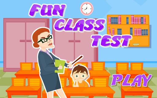 玩免費休閒APP|下載Fun Game-Class Test app不用錢|硬是要APP