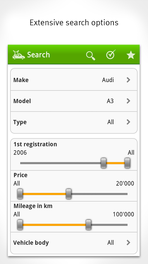 Car Market Switzerland- screenshot