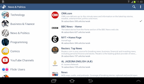 Inoreader - RSS & News Reader Screenshot 12