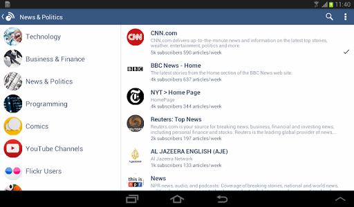 Inoreader - RSS & News Reader v0.7.2