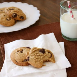 Gluten-Free Brown Butter Chocolate Chip Cookies.