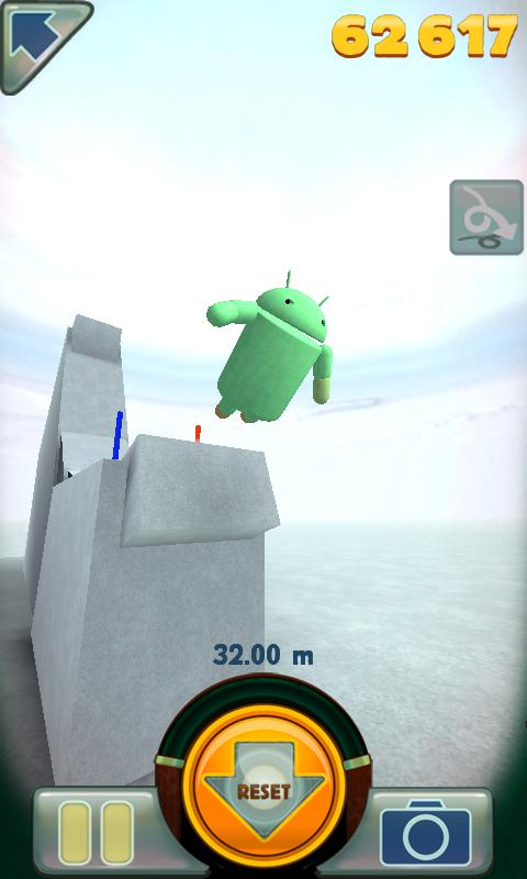 Stair Dismount - screenshot