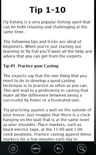【免費書籍App】101 Fly Fishing Tips.-APP點子