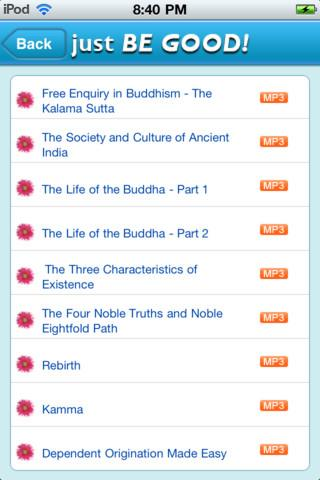 Just Be Good Buddhist - screenshot