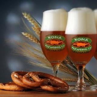 Kona Brewing's Wailua Wheat Ale Pretzels