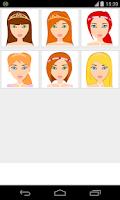Screenshot of princess makeup games