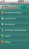 Screenshot of AS Anti-Hacker