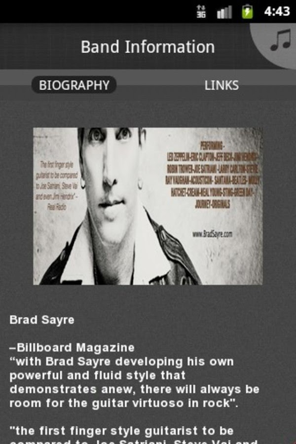 Brad Sayre - screenshot