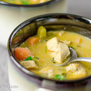 Coconut Chicken Curry.