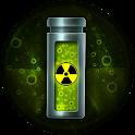Radioactive BatteryWidget logo