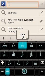 CyanogenMod Smart KB Theme - screenshot thumbnail