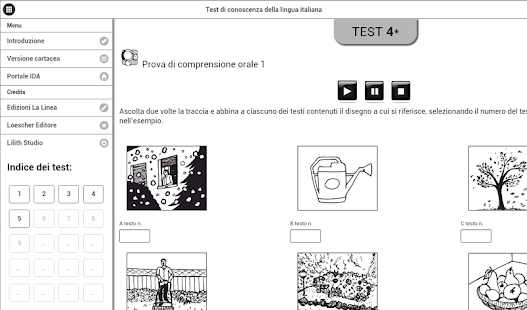 Test di italiano per stranieri - App Android su Google Play