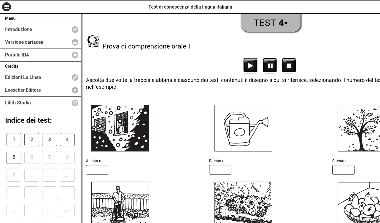 Test di italiano per stranieri app android su google play for Test lingua italiana per carta di soggiorno