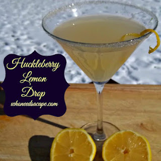 Huckleberry Lemon Drop