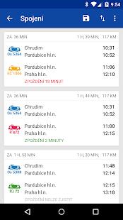 Offline Jízdní řády CG Transit Screenshot 4