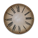 Antique French Clock Widget icon