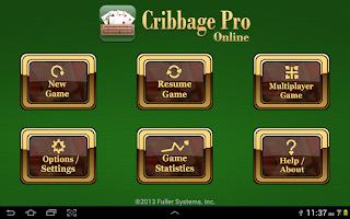Screenshot of Cribbage Pro Online!