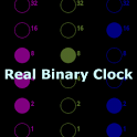 Real Binary Clock (no BCD) icon