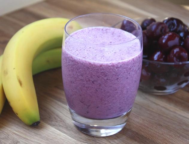 Cherry Banana Smoothie Recipe