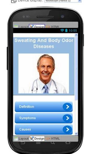 Sweating And Body Odor Disease