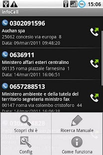 infoCall - screenshot thumbnail