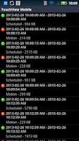 Screenshot of TouchView Mobile