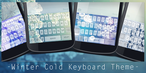 Winter Cold Keyboard Theme