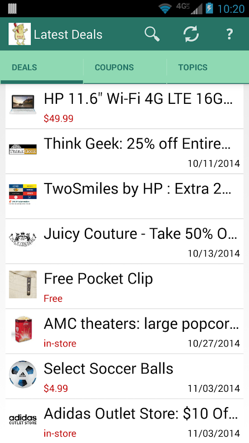 Buxr Deals & Coupons- screenshot