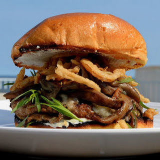 Wild Mushroom Gruyere Burger