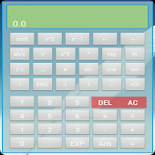 Widget Scientific Calculator