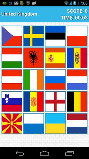 世界國旗問答與記憶