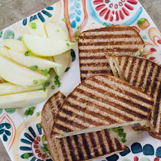 Chicken Panini with Apples, Swiss Cheese and Thyme
