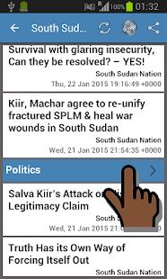 South Sudan Newspapers - screenshot thumbnail